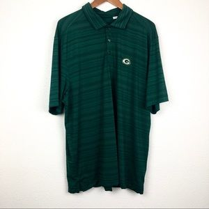 Green Bay Packers men's dry fit polo